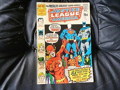 Justice League of America # 89 in nice condition