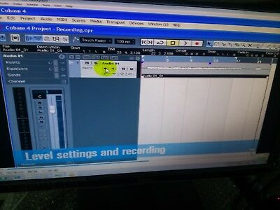 "Steinberg Cubase 5 ADVANCED  Production Software  Cubase  ""How to us it DVD"""