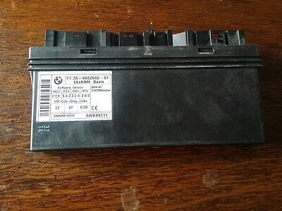 Bmw E60 E61 E63 E64 5 6 Body Module Control Unit 6943062 9114447 6974310 9151516
