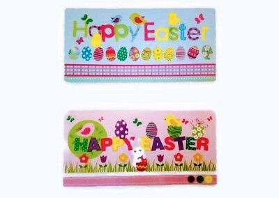 Easter Money Wallet Cards - 2 different designs - 6 cards with Envelopes