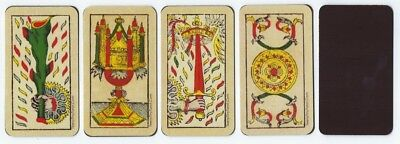 """Magnetic """"Tarot of Marseille"""" Aces for Meditation Contemplation--All Four Suits!"""