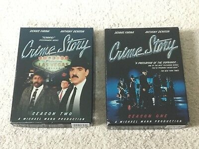 Crime Story: The Complete Series (9-Disc Set) (DVD, 2005)