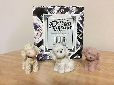 Pretty As A Picture Kim Anderson  Adorable Set includes  Puppy Dog Lamb  NEW
