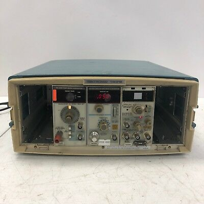 TEKTRONIX CALIBRATION PG506A + SG503 SINE WAVE + TG501A TIME MARK in TM515 CASE