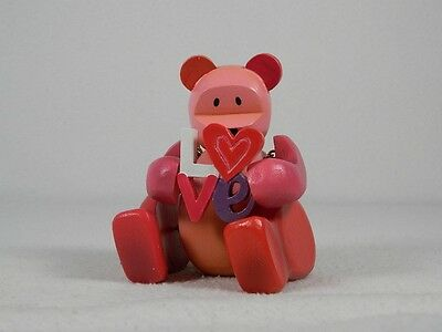 "Pozy Bears-""Sentiments"" Love Forever Yours-W/Love-Figurine #321009 New In Box"
