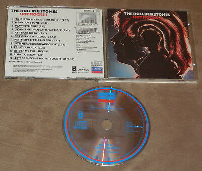 THE ROLLING STONES Hot Rocks I CD 1989 London 820 141-2 Best Greatest Dirty Work