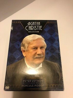 Agatha Christie Collection featuring Peter Ustinov (DVD, 2006, 3-Disc Set)