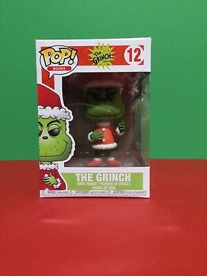 New Funko Pop Books The Grinch In His Santa Suit # 12