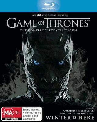NEW Game of Thrones Blu Ray Free Shipping