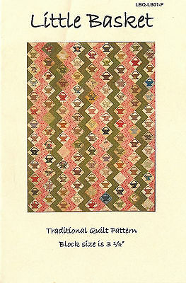 'Little Basket' Traditional Quilt Pattern by Laundry Basket Quilts NEW