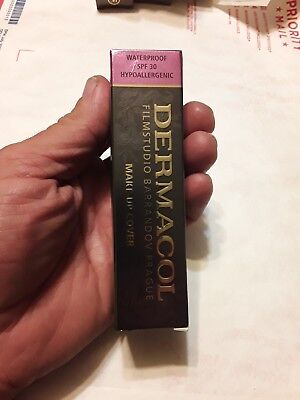 #211-Dermacol High Cover Makeup Foundation Waterproof SPF-30 (Authentic) - NEW