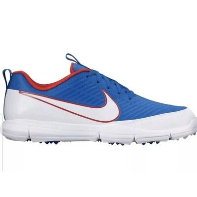 sneakers for cheap 65c1c eee7d Nike Explorer 2 Mens 13 Spikeless Golf Shoes Red White Blue 849957-401