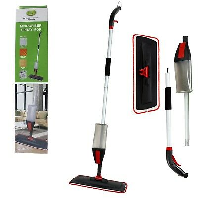 700ML Spray Mop Water Spraying Floor Cleaner Kitchen With 2 Microfibre Pads