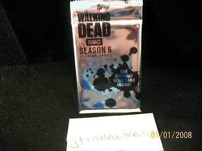 2017 Topps Walking Dead Exclusive Relic Hot Pack Negan? Auto/Relic? Season 6