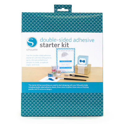 ADHESIVE KIT Glitter Sheets Designs New Silhouette SD Cameo Portrait Machine
