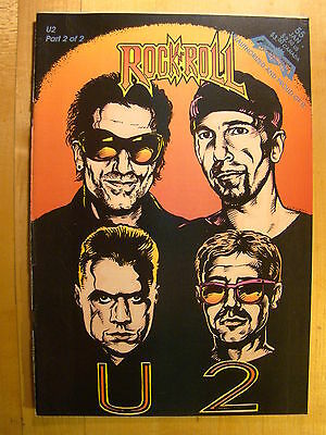 Rock N Roll U2 No 55 Part 2 1993 Unauthorized Comic Book Revolutionary U 2