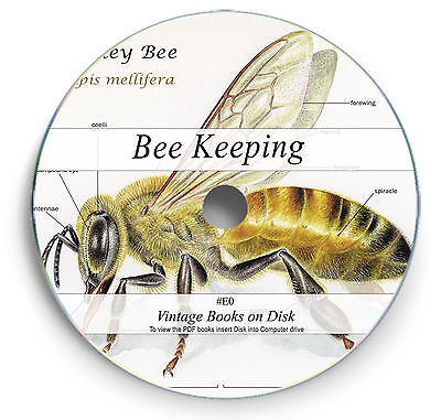303 Rare Vintage Books on DVD - Learn Bee Keeping Rear Hive Honey Wax Smoker E0