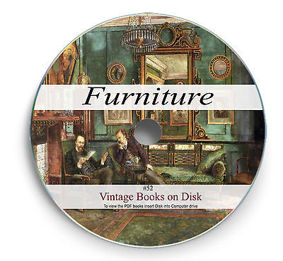 Rare Books on DVD - Furniture Making Joinery Woodworking Antique Oak Cabinet 52