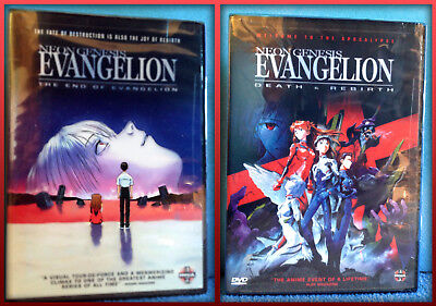 Neon Genesis Evangelion:The End of Evangelion / Death&Rebirth / POSTERS INSIDE