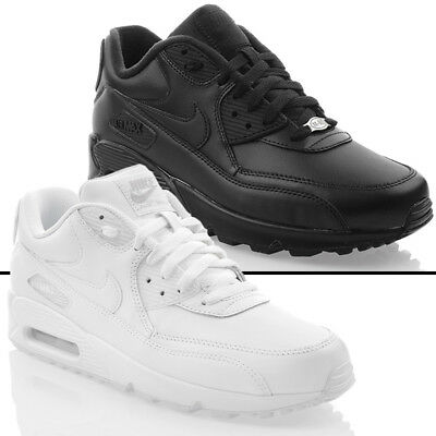 low priced effaa 55cdd Chaussures Neuves Nike Air Max 90 Cuir Baskets pour Hommes Exclusif Original