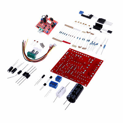 Red 0-30V 2mA-3A Adjustable DC Regulated Power Supply Board DIY Kit PC LC