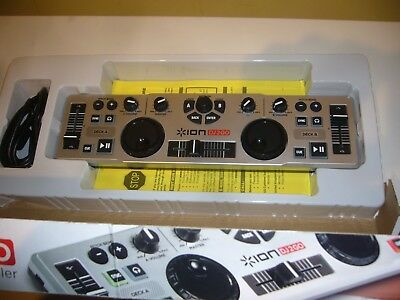 * ION DJ 2 GO - The most portable USB D J controller in the world - New in box