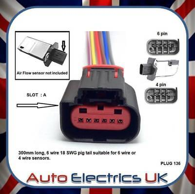 Remarkable For Ford Transit Mk7 Tdci Maf Air Mass Sensor Connector Wiring Loom Wiring Database Obenzyuccorg