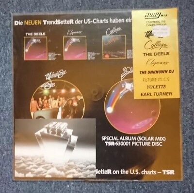 KDAY MIX Picture Disc Vinyl TSR INT 998.005 Midnight Star Klymaxx Deele Collage