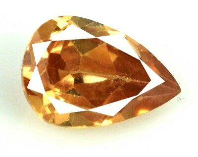 Brown Axinite Loose Gemstone 7.10 Ct 100% Natural Pear Cut AGSL Certified E1535