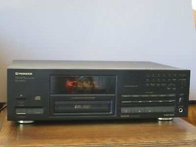 Vintage Pioneer PD-M701 6 Compact Disc Audio CD Player Cartridge Changer JAPAN