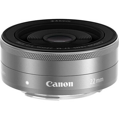 Canon EF-M 22mm f/2 STM Lens (Silver) #9808B002