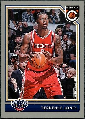 Terrence Jones Pelicans #261 Complete Basketball 2016 Silver Parallel Card C2287