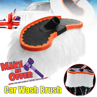 Car Wash Brush Replace Soft Milk Silk Mop Strong Water Absorption Without Handle