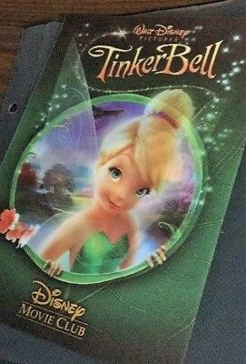 Disney Tinkerbell  / 3D Lenticular Collector's Movie Club Card