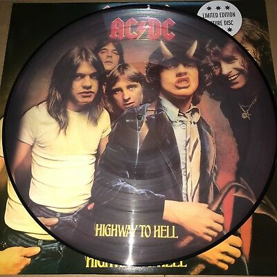 Ac/dc, Highway To Hell, 180 Gram Picture Disc Vinyl Lp, New 2018 Eu Import
