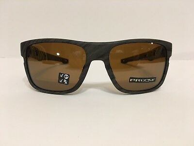 a577137d1a New! Oakley Crossrange Sunglasses Woodgrain Prizm Tungsten Polarized  oo9361-0757