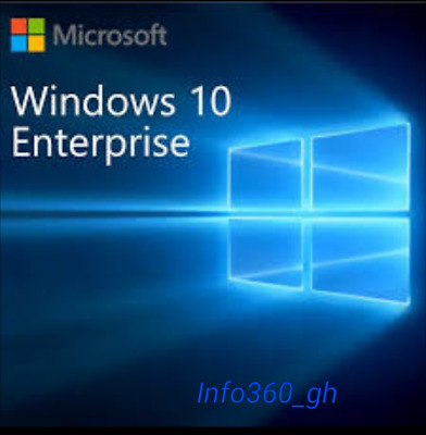 Win 10 Enterprise- KEY/CLAVE LICENCIA/LICENSE 100% ORIGINAL 32/64 Multilenguaje