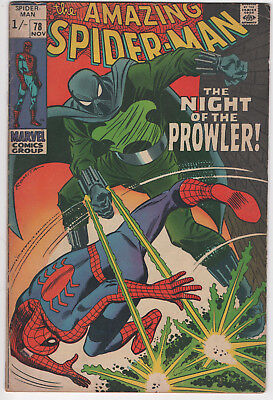 Amazing Spider-Man 78 vgfn *1st app of The Prowler