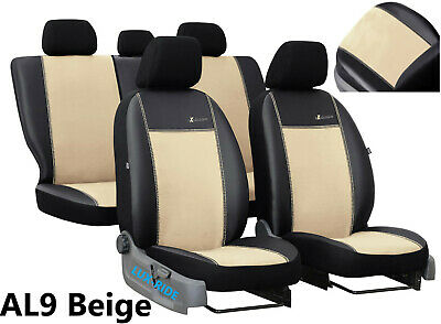 EcoLeather+Alicante Tailored Front Seat Covers LAND ROVER FREELANDER 2006-2014