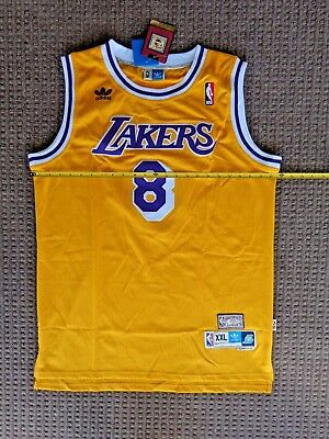 3d560149771 Vintage Los Angeles Lakers Kobe Bryant   8 Jersey All Sewn Old School by  adidas