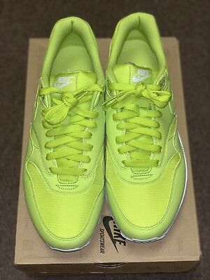 the latest bb61f d09d8 Nike Air Max 1 308866-331 Men s Shoe Atomic Green New In Box Size 10