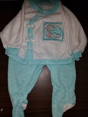 Vintage Babygro 2pc Sleeper Set Multi-Color Infant Size Small