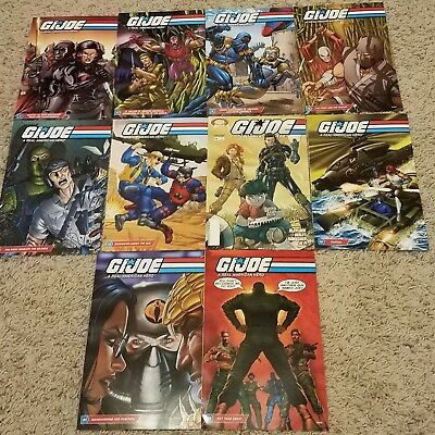 G.I.JOE A REAL AMERICAN HERO HASBRO COMIC Lot of 10 NEW