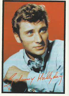 Carte Postale Johnny Hallyday   7004