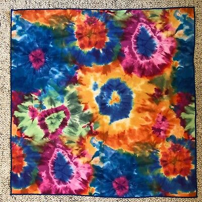 Radiohead In Rainbows Scarf Bandanna -  Approx 19 inches x 19 inches