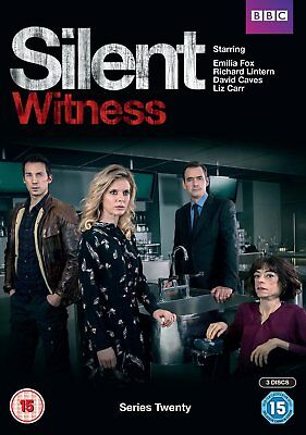SILENT WITNESS Series 20 & 21 R2 PAL DVDs New 2017-2018