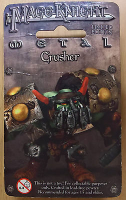 WizKids Mage Knight Metal - 537 Crusher Limited Edition (Sealed)