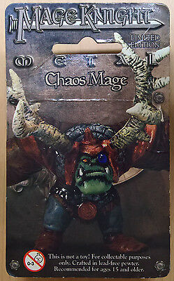 WizKids Mage Knight Metal - 557 Chaos Mage Limited Edition (Sealed)