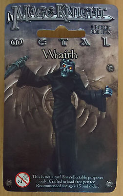 WizKids Mage Knight Metal - 558 Wraith Limited Edition (Mint, Sealed)
