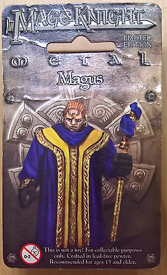 WizKids Mage Knight Metal - 548 Magus Limited Edition (Mint, Sealed)